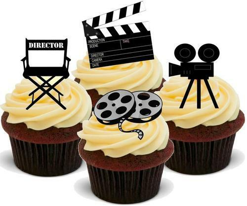Film Director Mix Stand Up Premium Card Cake Toppers