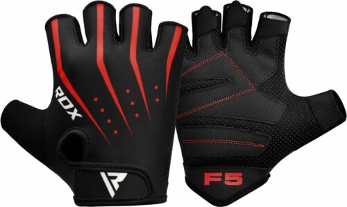 RDX Gym Gloves Weight Lifting Yoga Workout Fitness Cycling Training Black CA