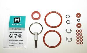 Jura-Capresso-OEM-Brew-Group-O-ring-set-w-Oval-Head-Service-Key-Tool-BIG-KIT