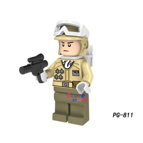 Star Wars The Last Jedi Royal Guard IG-88 Rey Han Solo Building Blocks Figure