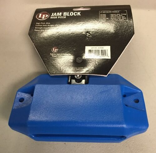 Latin Percussion LP1205 High Pitch Jam Block NEW