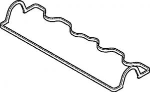 Zylinderkopfhaube für Zylinderkopf ELRING 375.310 Dichtung