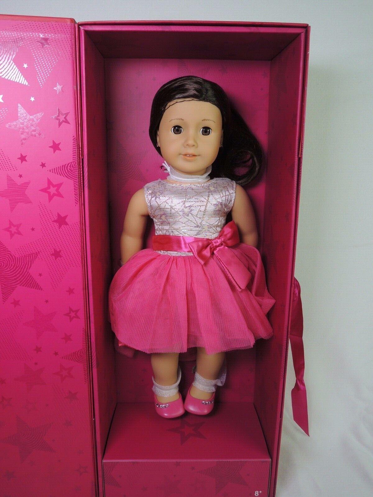 Cyo American Girl Doll Feliz Navidad albana 2017 tienda exclusiva caja de regalo