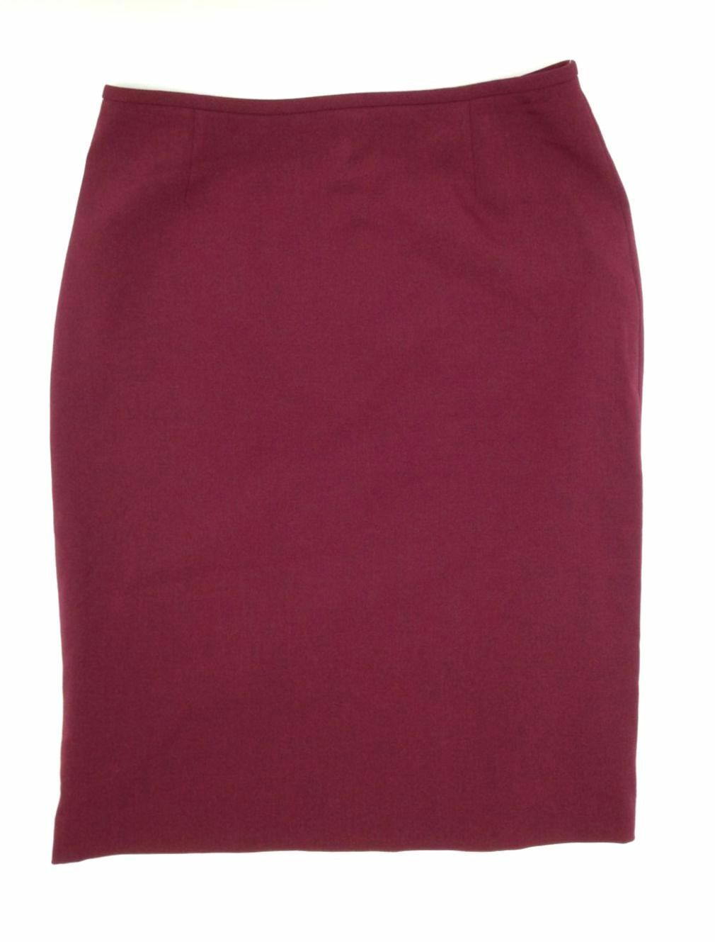 NEW  TAHARI ASL WOMEN'S RED KNEE-LENGTH PENCIL-SILHOUETTE SKIRT SIZE 4