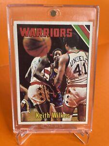 1975 Topps #50 Keith Jamaal Wilkes Rookie RC Rookie Card HOF RARE!!! PSA 8+?