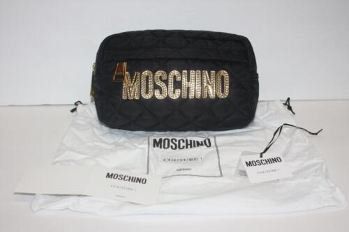 logo Moschino Couture Case uptas Scott Gold Jeremy zwart make gewatteerde 885699397835 Beauty 54AjRLq3