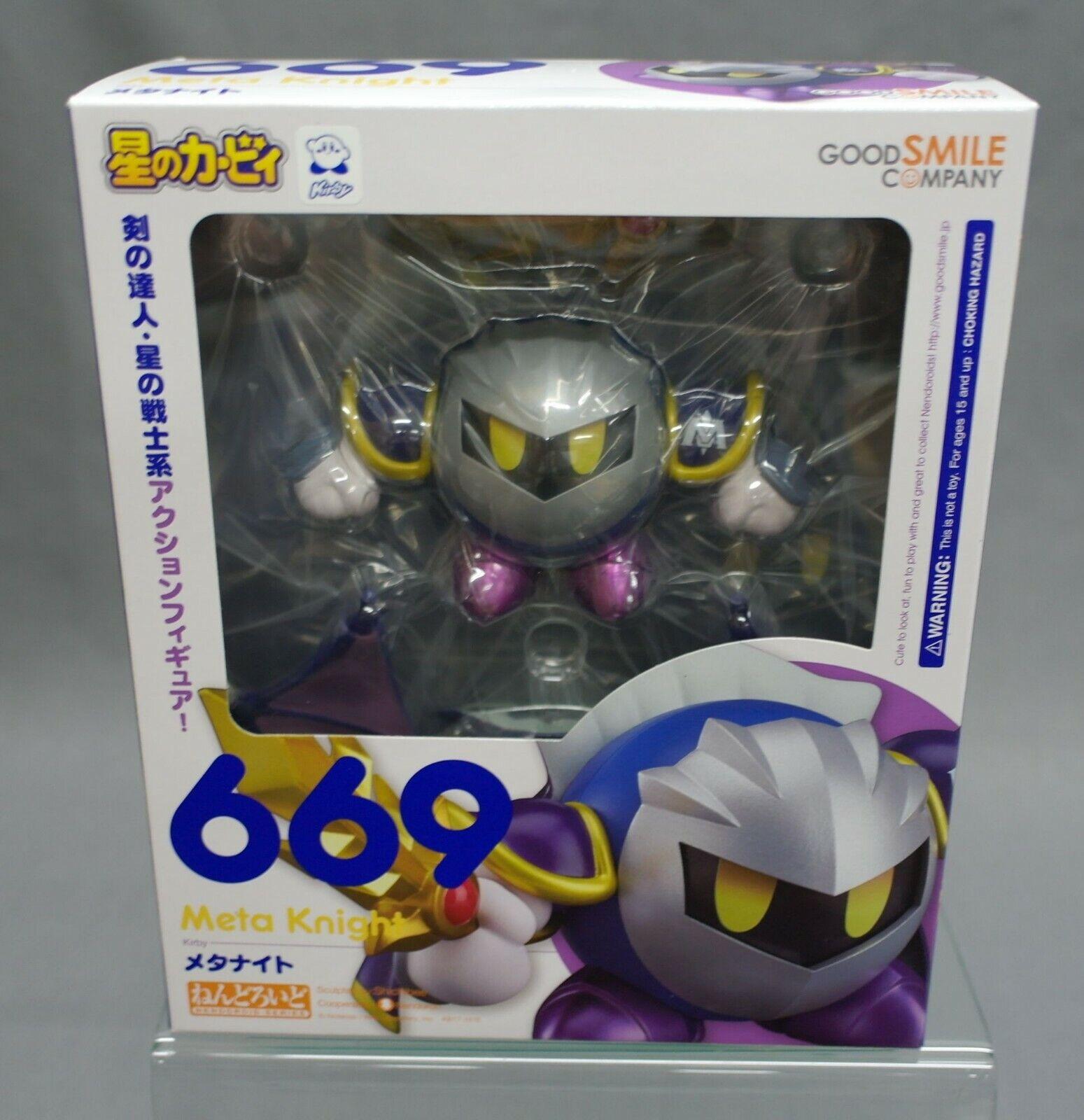 Nendoroid Kirby Meta Knight Good Smile azienda Japan nuovo