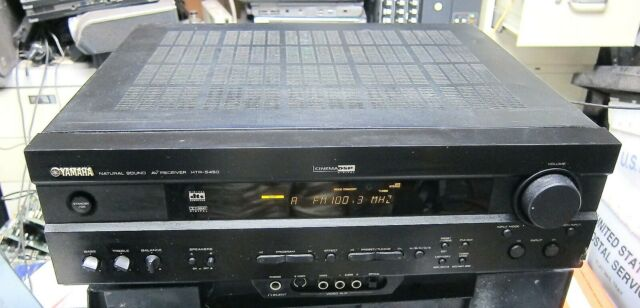 YAMAHA Natural Sound AV RECEIVER HTR-5450 HOME THEATER   DIGITAL DSP