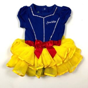 7da45f63fb8a Disney Baby 9 Months Princess Snow White Tutu One Piece Romper ...
