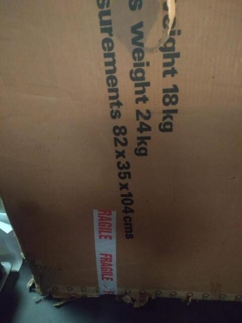 QUAD ESL63 ELECTROSTATIC LOUDSPEAKER , packaging only