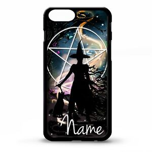 Witch-witches-magic-black-cat-magic-pentagram-personalised-name-phone-case-cover