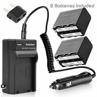 Kastar Battery Charger Sony Gv-d200 Gv-d700 Hvl-lbpb Hdr-ax2000 Hdr-fx1 Hdr-fx7