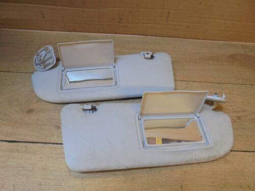 Citroen xsara 2000-2004 facelift paire de crème pare-soleil avec 2 miroirs