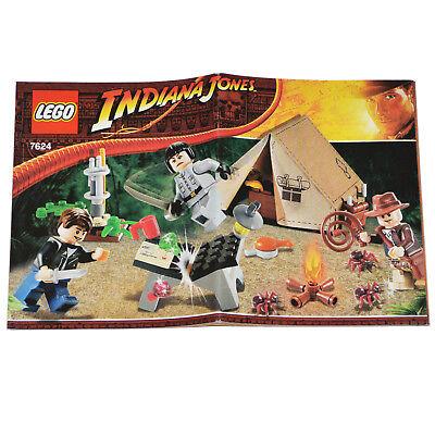 Lego Booklet 7624 Indiana Jones Ebay