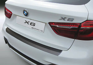 VOLL-Ladekantenschutz-BMW-X6-F16-PASSGENAU-amp-Abkantung-RGM-BJ-12-2014-10-2019