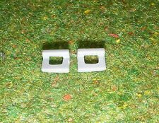 VINTAGE ACTION MAN 40th LOOSE GREY GERMAN HELMET CLIPS