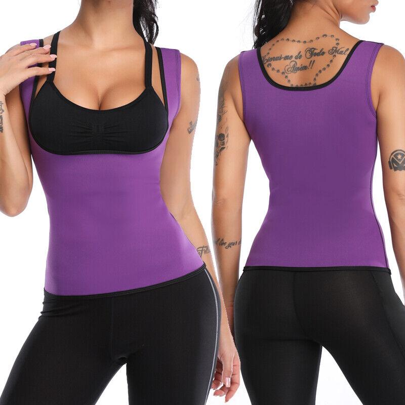 Details about  /Fajas Reductoras Abdomen Para Sudar Y Perder Peso Para Mujer Shaper Thermal Vest