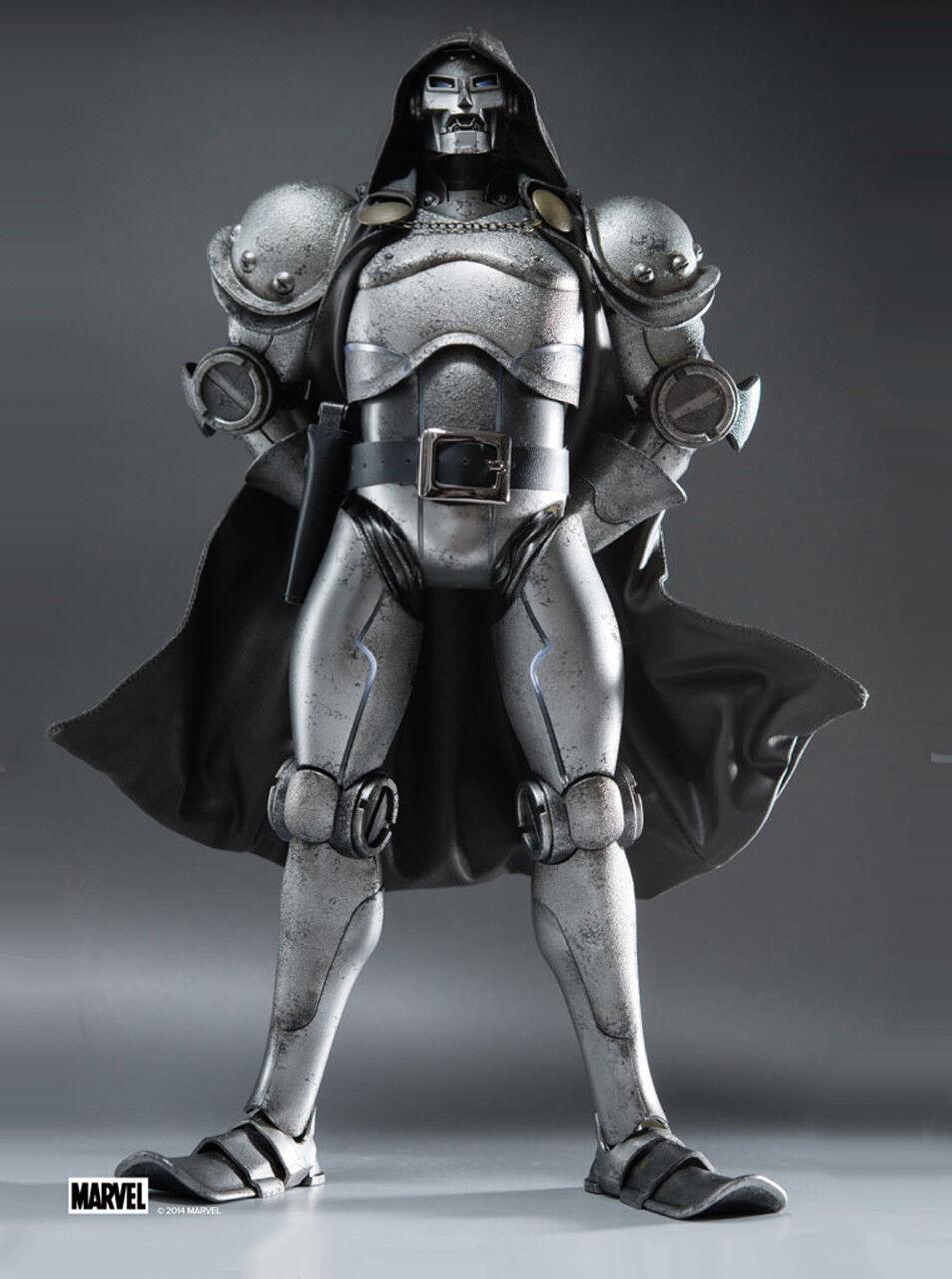 saludable Threea 3A Marvel Doctor Doom 1 6th Escala Escala Escala Figura Clásica Edición Ashley Wood Nuevo  tienda en linea
