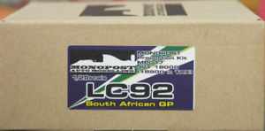 MONOPOST 1 20 Venturi LC92 South Africa GP Resin Kit MP-017 from Japan F S