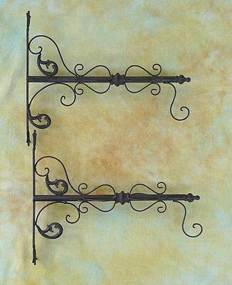 Ausleger Gusseisen für Aushängeschild, Blumenampel oder Lampe Haken 0939875-a