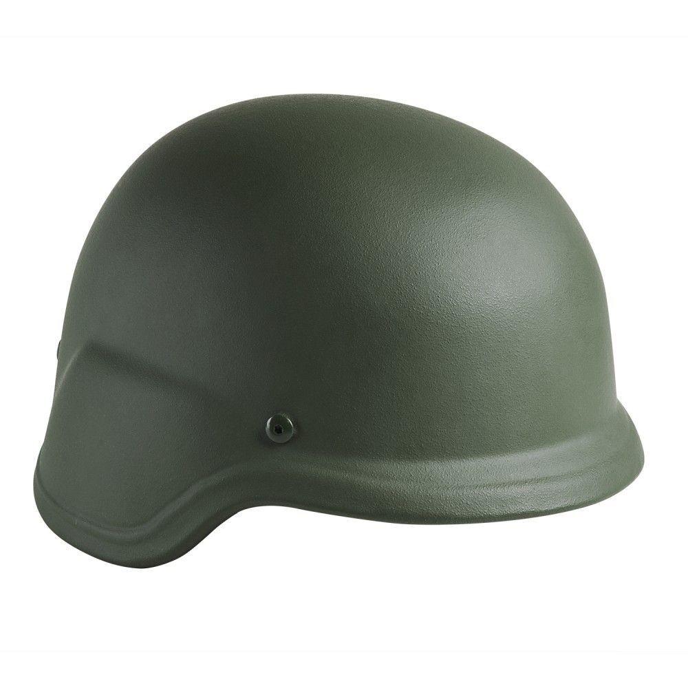 NcSTAR Level IIIA Ballistic Helmet w Carry Case, Green, Large, BPHLG