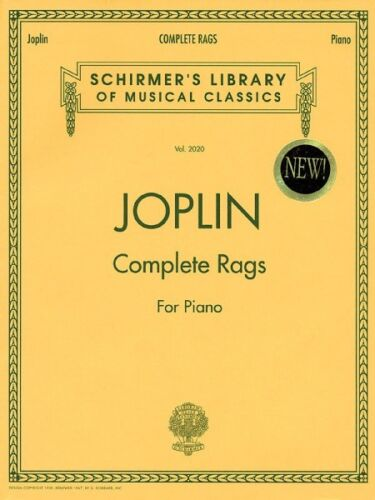 Joplin Complete Rags for Piano NEW 050482729