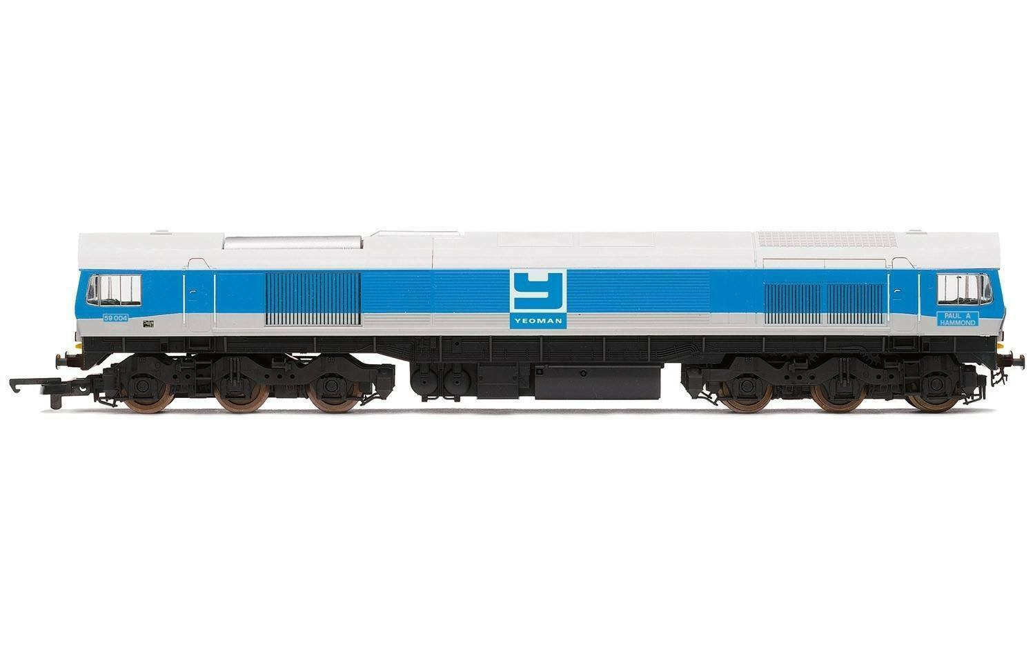 Hornby OO 59004 R3666 classe 59 CoCo Yeouomo Aggregates Loco nuovo scatolaed DCC Ready
