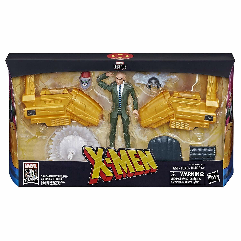 Marvel Legends  6  PROFESSOR X w  HOVER CHAIR Hasbro azione cifra scatola Set NISB  senza esitazione! acquista ora!