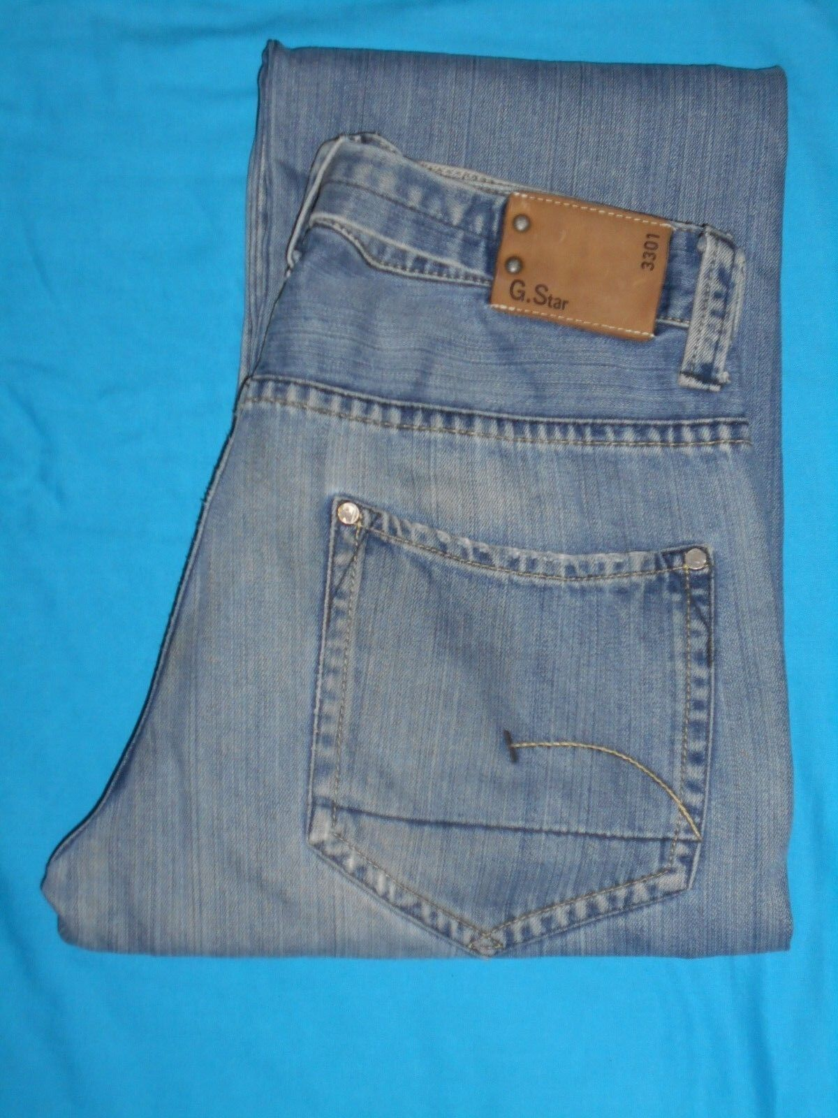 G Star Raw 3301 Denim Jeans  Waist-32 Leg-31