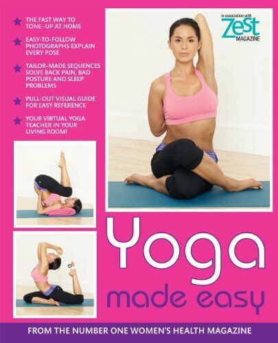 1 of 1 - Zest Yoga Made Easy (Zest Magazine) By Samantha Magee