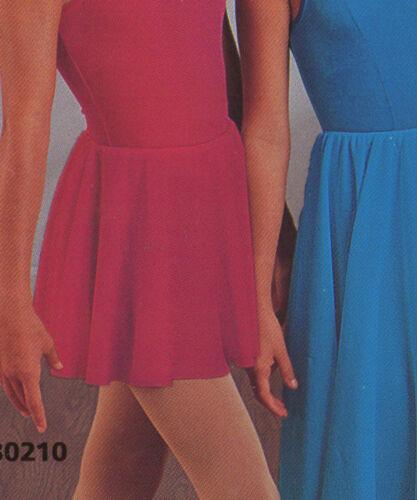 NWT VELVET Dance skirt elastic waist  colors ch//ladies WolffFording Jazz Tap