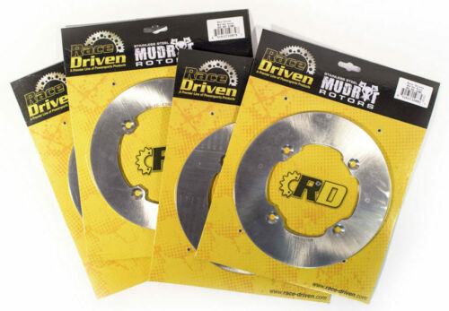 2014 2015 Can-Am Maverick XMR 1000R 4x4 Front and Rear MudRat Brake Rotors Discs