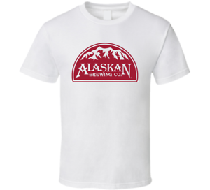 New-Alaskan-Brewing-Co-Beer-Men-039-s-T-Shirt-Size-S-2XL