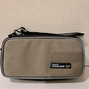 Official Gameboy Advance SP Gray Holder Case Carry Travel ALS Industries
