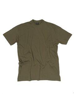 Dettagli su T Shirt Militare VERDE OD Maglietta Militare Maniche Corte VERDE OD