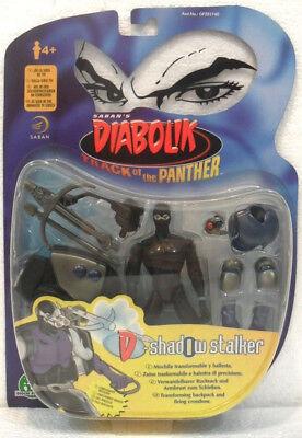 DIABOLIK shadow stalker cm.13,5 anno 1999 Saban//Preziosi