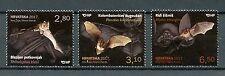 Croatia 2017 MNH Croatian Fauna Bats 3v Set Stamps