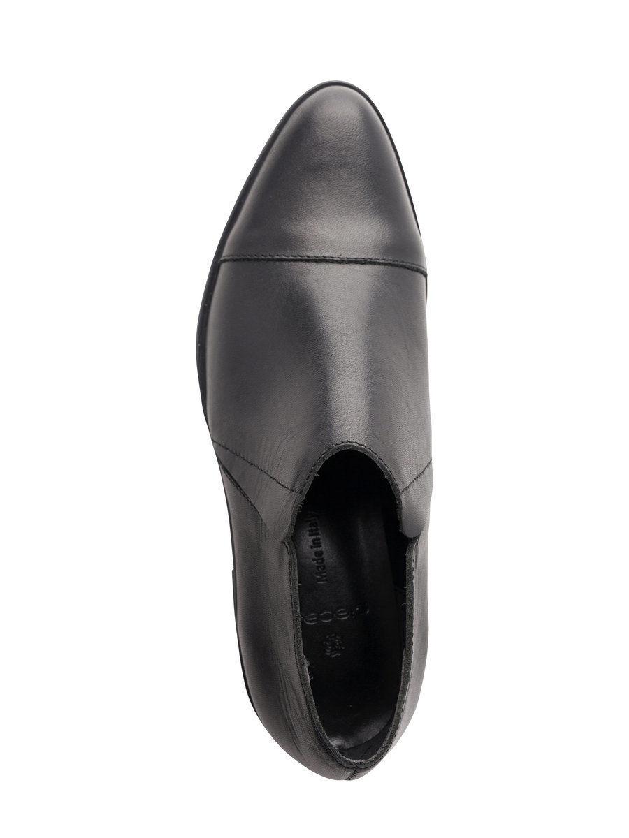 Pieces Sava Womens Boyish Style Leather Flat shoes 8 41 BNWT   Black
