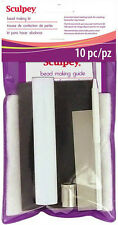 SCULPEY Polymer Clay BEAD MAKING KIT 10 pc Set Roller Blade Guide Cutter Tools