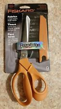 FISKARS RAZOR EDGE SHEARS 9-INCH PREMIUM FABRIC SHEARS 8190