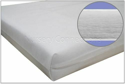 Optimum Comfort /& Hygiene New Kidtech Fibre Cot Cotbed Mattress Made in the UK