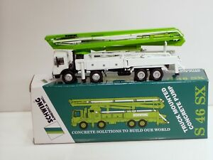 Details about Mack S46SX Schwing Concrete Pump Truck - 1/50 - Brand New
