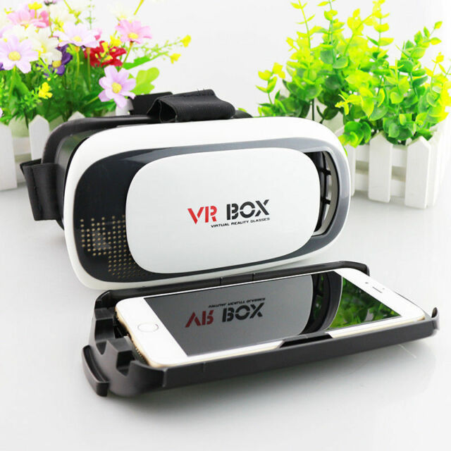 Virtual 3D VR Glasses Reality Box Headset Helmet For iPhone 6 6s New Fashion