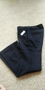 Women-039-s-Old-Navy-Slim-Flare-Harper-Full-Length-Pants-4P-black-NWT