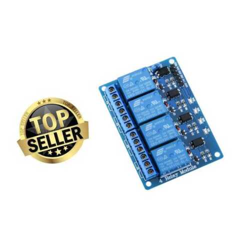 Relay Module 4 Channel DC 5V With Optocoupler For Arduino UNO R3 Kit MEGA 2560