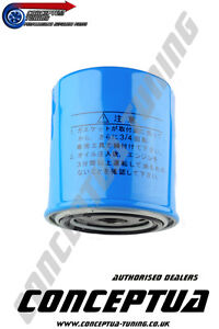 Brand New OE Spec Quality Oil Filter Black/Blue - For WC34 Stagea RB25DET S1