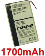 Batteria 1700mAh tipo DA2WB18D2 Per iRiver H10 (20GB)