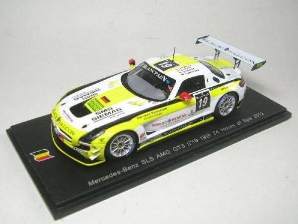 Mercedes-Benz SLS AMG GT3 no. 19 24 H Spa 2012