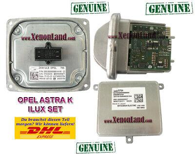 Original opel astra k steuergerät led gm 39024626 A2C87070001