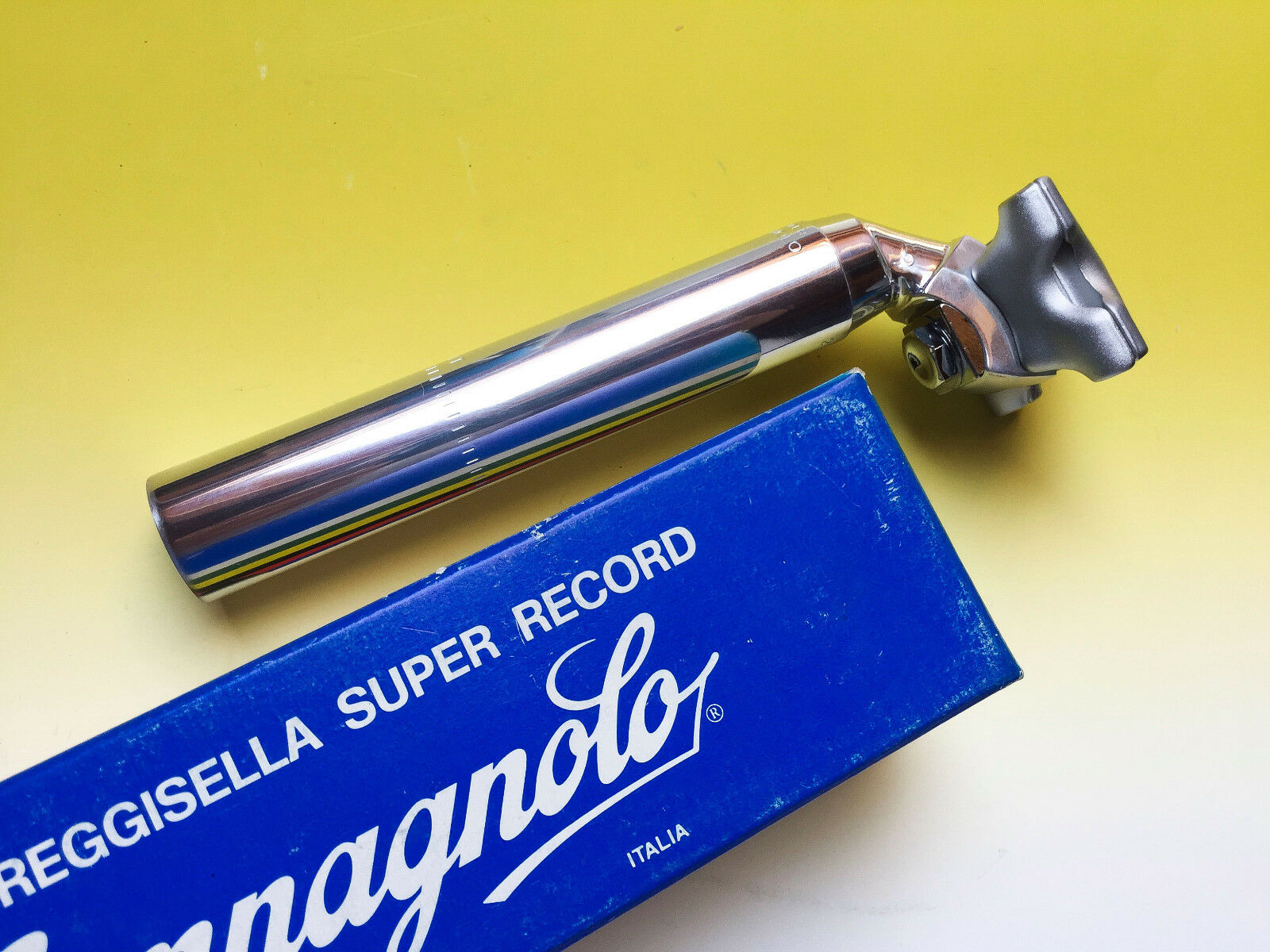 Campagnolo Super Record seatpost 26.8mm NUOVO NOS NIB 130mm Reggisella